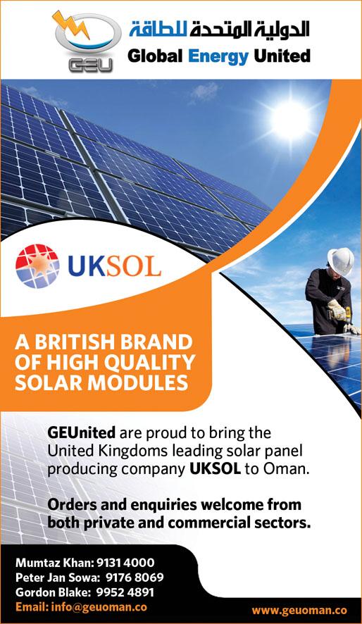 British Solar Pv Module Company Uksol Supplies Growing